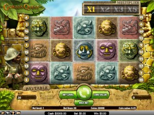 Gonzo's Quest Gokkast bij Mr Green casino