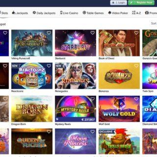 casinoeuro games