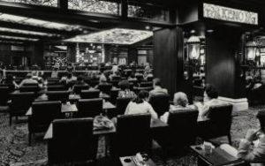 Een Las Vegas Keno Afdeling in de jaren '70.
