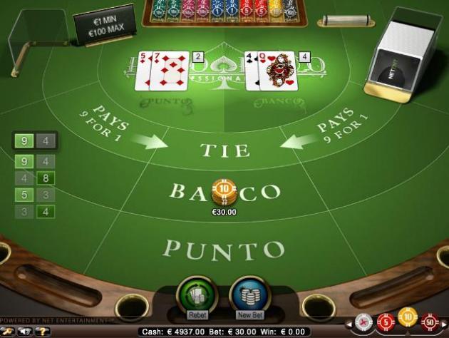 Punto Banco Online