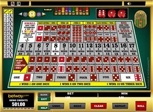 Sic Bo bij Betway Casino