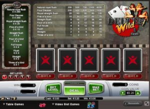Betsafe Casino Red Video Poker