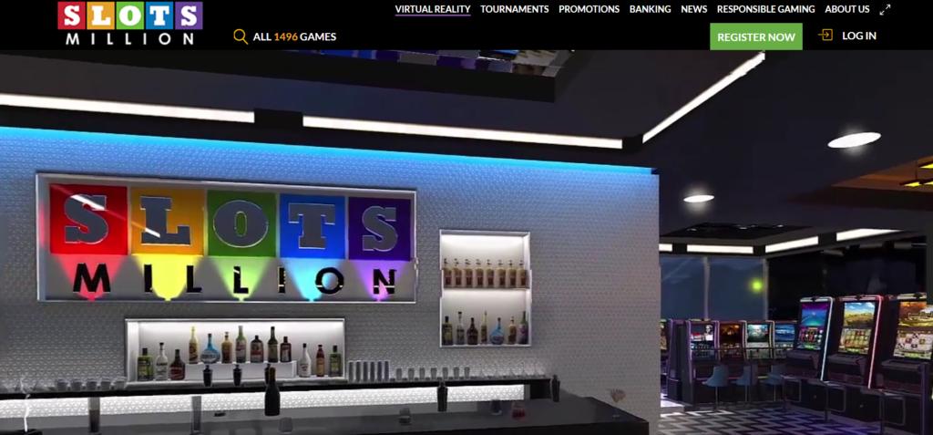 Enter Slotsmillion Virtual Online Casino