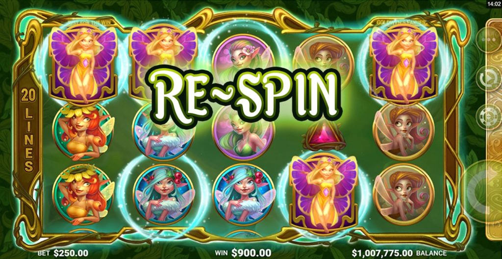Re-Spin Goldwyns Fairies