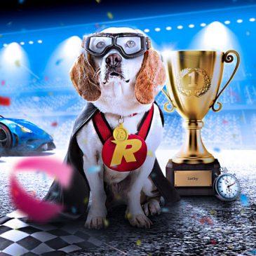 Dubbele prijzenpoel tijdens de Rizk Races bij Rizk Casino