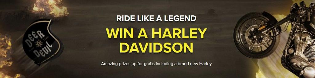 SuperLenny: Win een Harley Davidson motor!