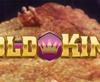 Logo van de Gold King gokkast van Play'N Go