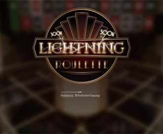 Lightning Roulette van Evolution Gaming