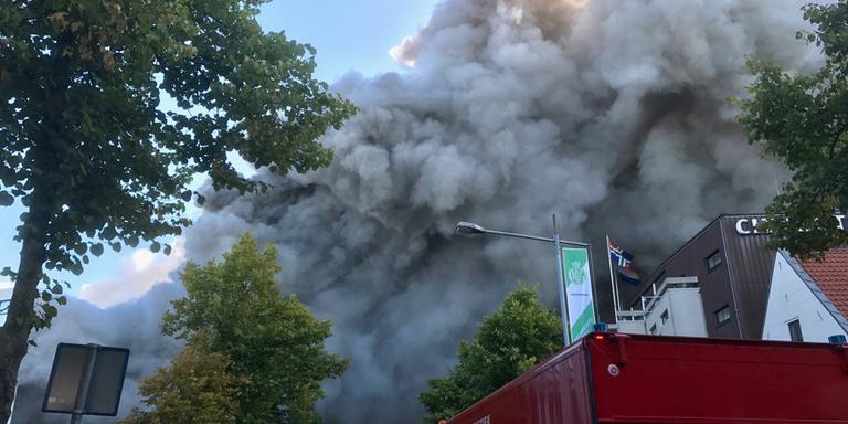 Brand in het Holland Casino Groningen