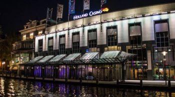 Het pand van het Holland Casino in Amsterdam