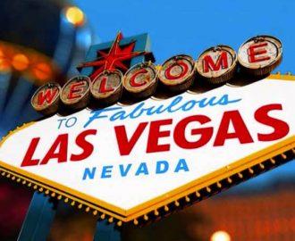 Welkom in Las Vegas bord