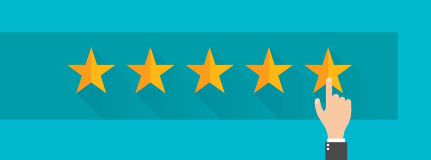 Vijf gouden sterren