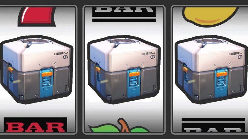 Gokkast met loot boxes