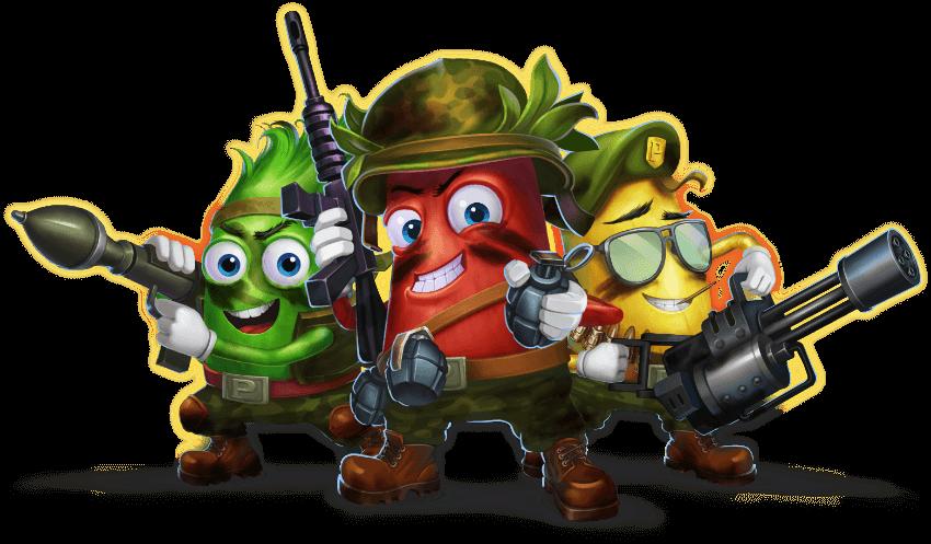 Platooners karakters