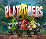Vierkant logo van de gokkast Platooners