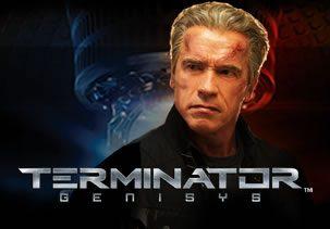 Terminator Genisys met Arnold Scharzenegger