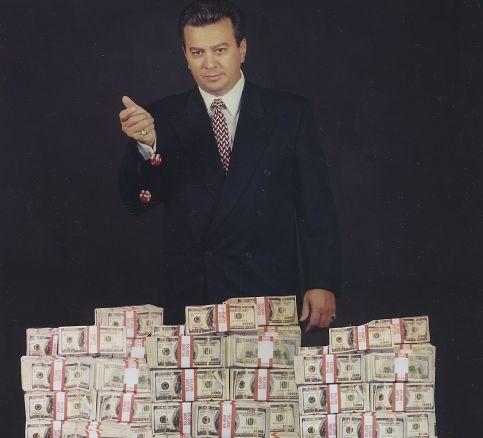 Archie Karas en zijn grote stapels geld