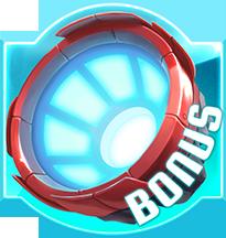 Bonus symbool op de gokkast Bigbot Crew
